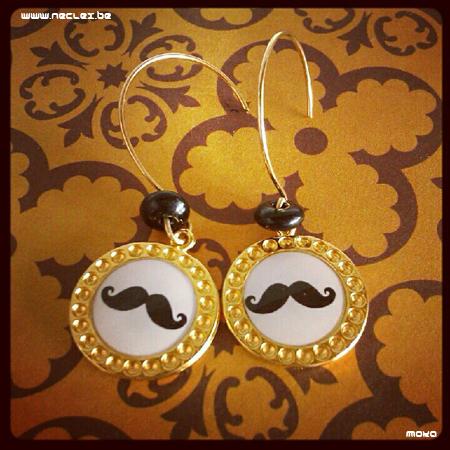 Gold moustaches