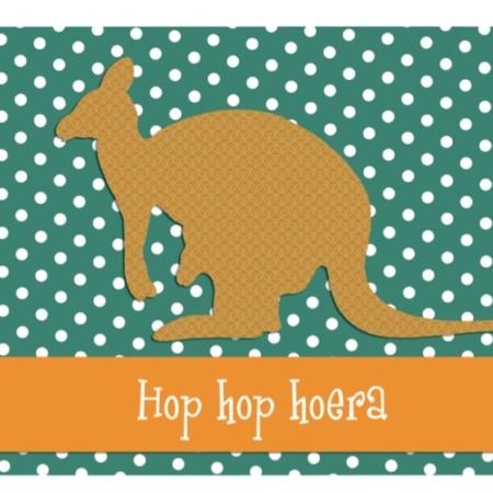 kangoeroe hop hop hoera
