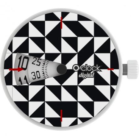 o clock digital optical triangoli