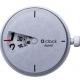 o clock digital light silver