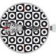 o clcok digital optical circles