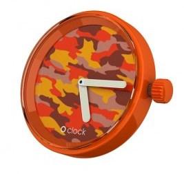o clock camouflage orange