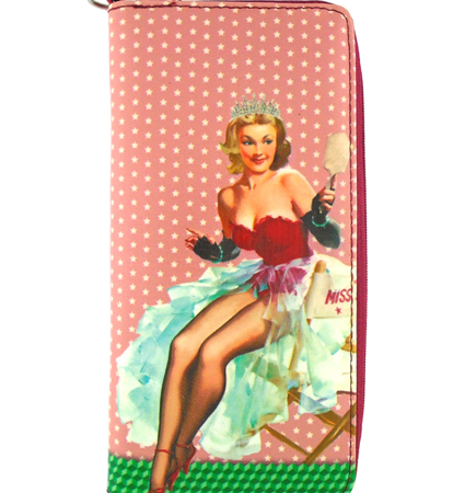 Lavishy Large wallet Pin up Girl Carmen