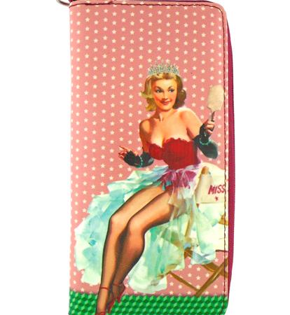 Lavishy Large wallet Pin up Girl Carmen