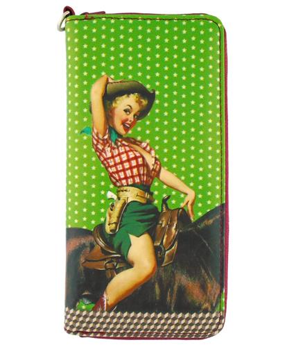 Lavishy Large wallet Pin up Girl Chelsea