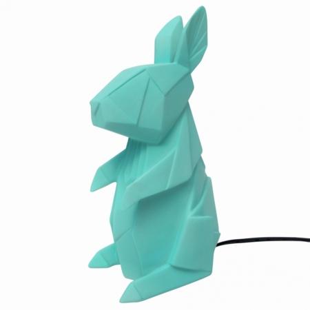 Nordikka lamp turquoise konijn