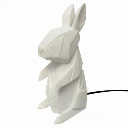 Nordikka lamp wit konijn
