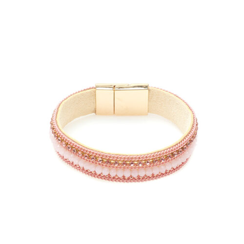 Roze armband mix Biba