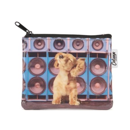 portemonneetje speaker dog