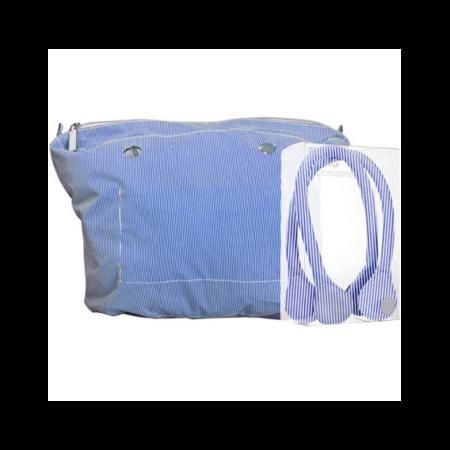 O'bag kit blue lines canvas