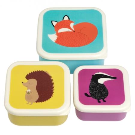 Trio koekendoosjes bosdieren 1