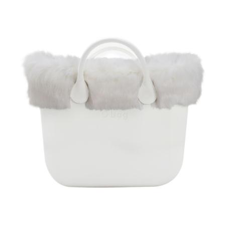 Omslag o'bag eco fur white