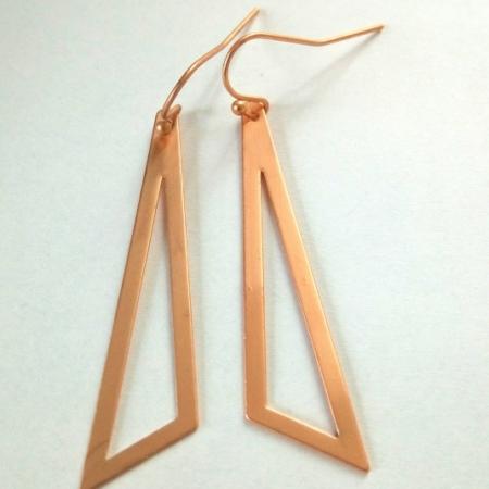 triangle mat rosé