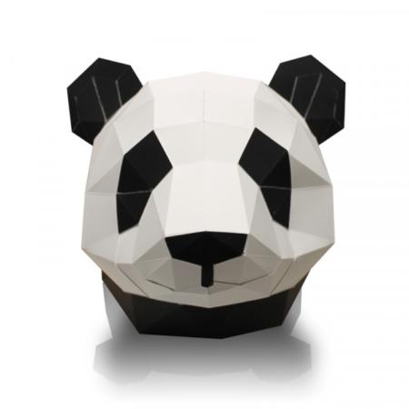 Pandakop in papier