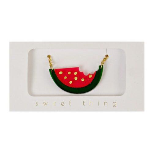 halsketting watermeloen