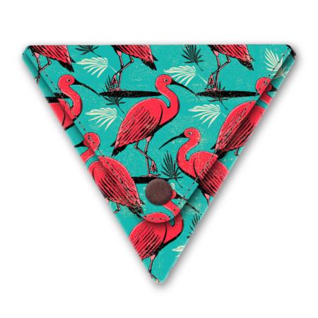papieren driehoek portemonneetje kraanvogel