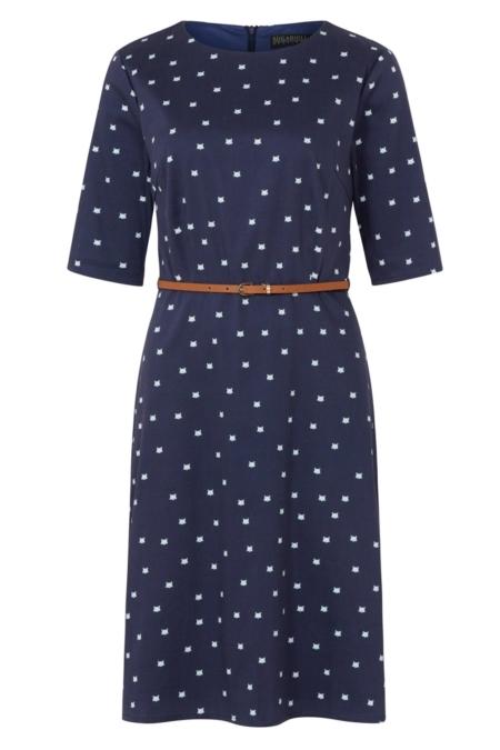 Alysia A-line dress