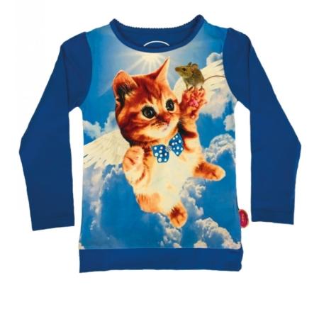 T-shirt kat 'engel'