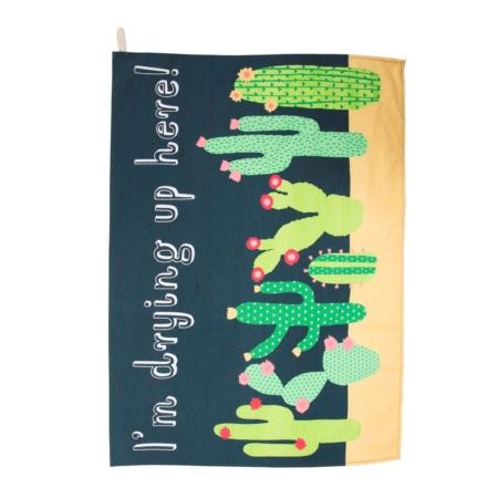 Theedoek cactussen