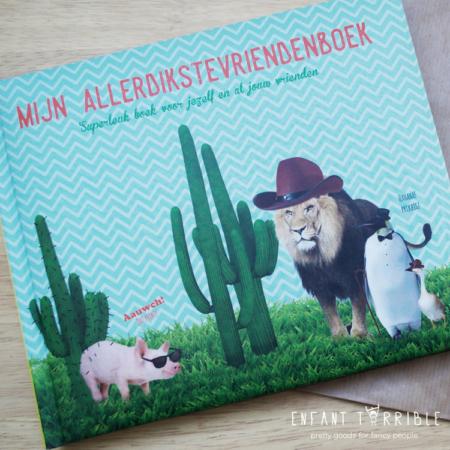 Cactus en dieren vriendenboek