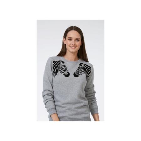 Alanis flock zebra sweatshirt