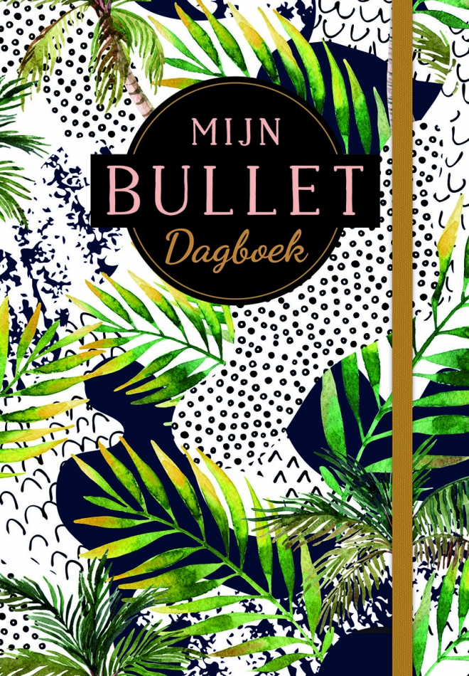 Mijn bullet dagboek tropical leaf