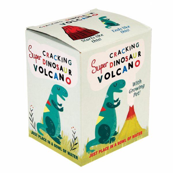 Dinosaur cracking volcano 2