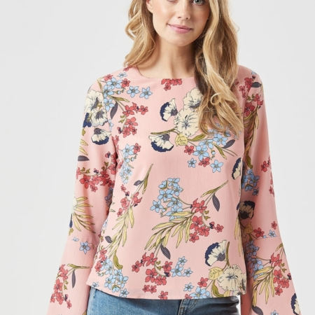 Top Eliana hand drawn Floral