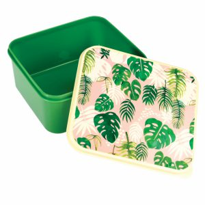 Tropical palm lunch box 1