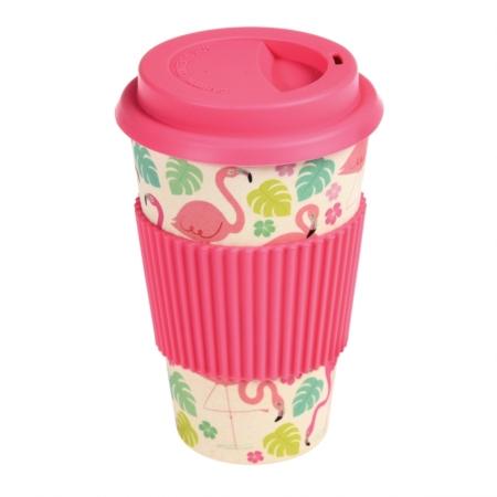 flamingo bay bamboe koffiebeker1