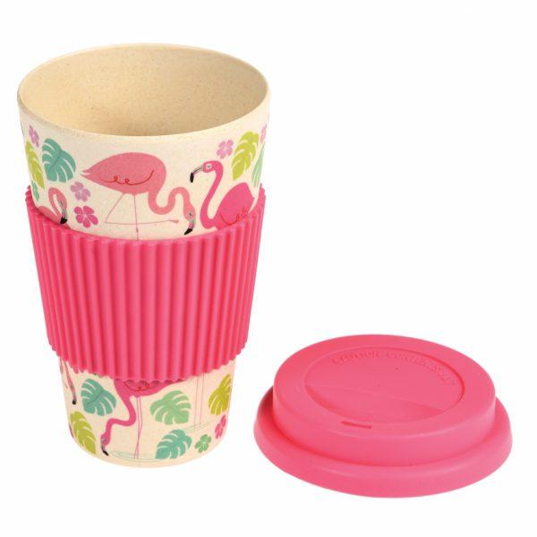flamingo bay bamboe koffiebeker2