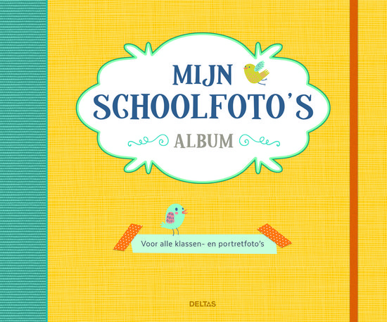 mijn schoolfoto's album geel