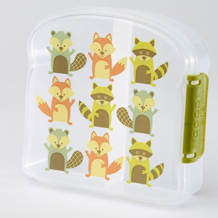 Lunchbox bosdiertjes