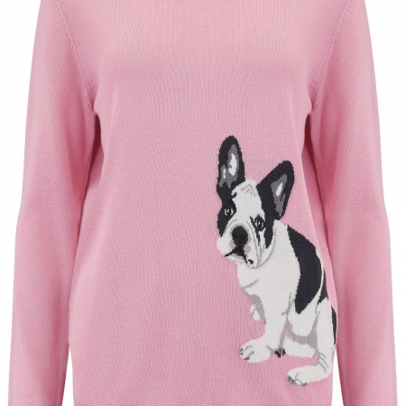 Rita French Bulldog Sweater 1