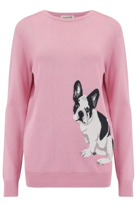 Rita French Bulldog Sweater 1