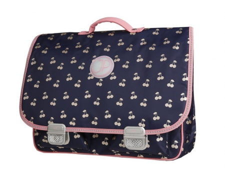 Schoolbag Paris large cherry