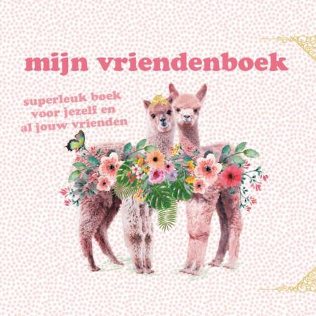 Vriendenboekje alpaca