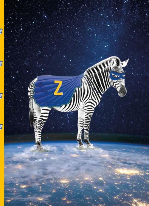 Briefpapier Zuper Zebra