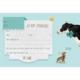 UITN004 - Set van 5 uitnodigingen + omslag Koe