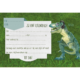 UITN010 - Set van 5 uitnodigingen + omslag Dino