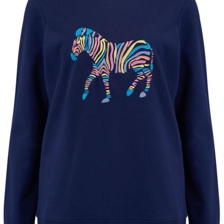 Alanis Rainbow zebra sweatshirt 1