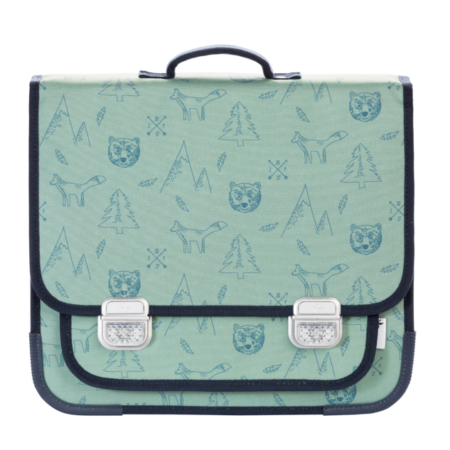 Schoolbag Paris Large Woodland1