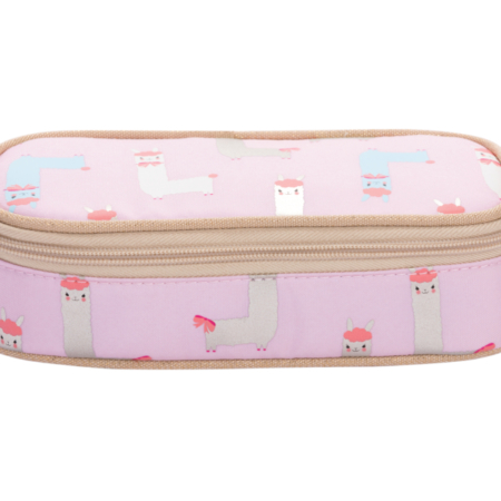 pencil case alpaca gold