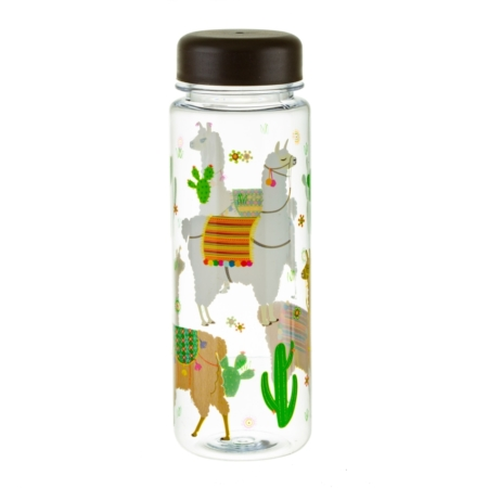 lama clear water bottle