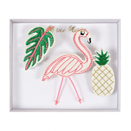 Broches flamingo