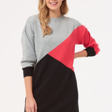 Jett Colour block sweater