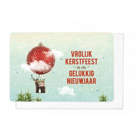 KP274 Vrolijk Kerstfeest en een gelukkig nieuwjaar