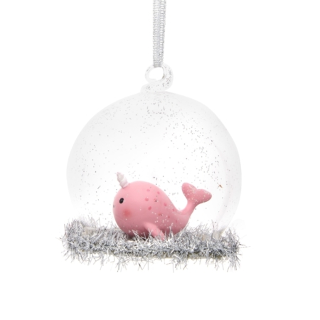 Kerstbal Narwhal 1