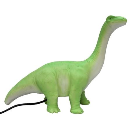 Nachtlamp groene diplodocus