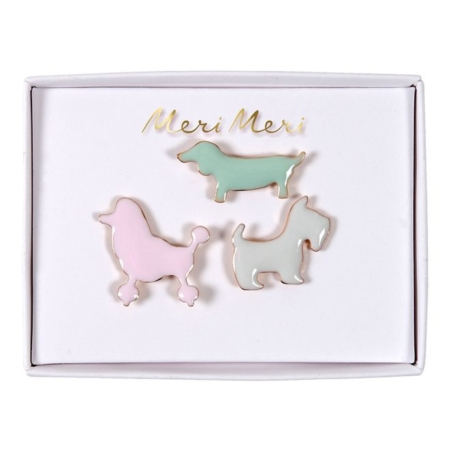 Pins emaille honden